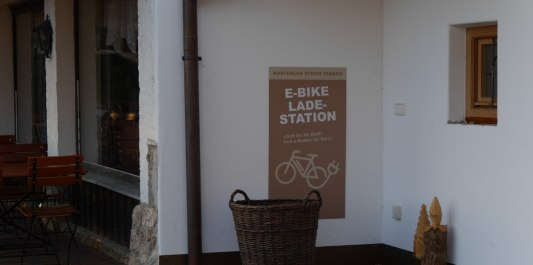E-Bike Ladestation Ebinger Alm, © Inn-Salzach Tourismus
